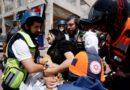 Bombardeo del grupo terrorista Hamas a Israel